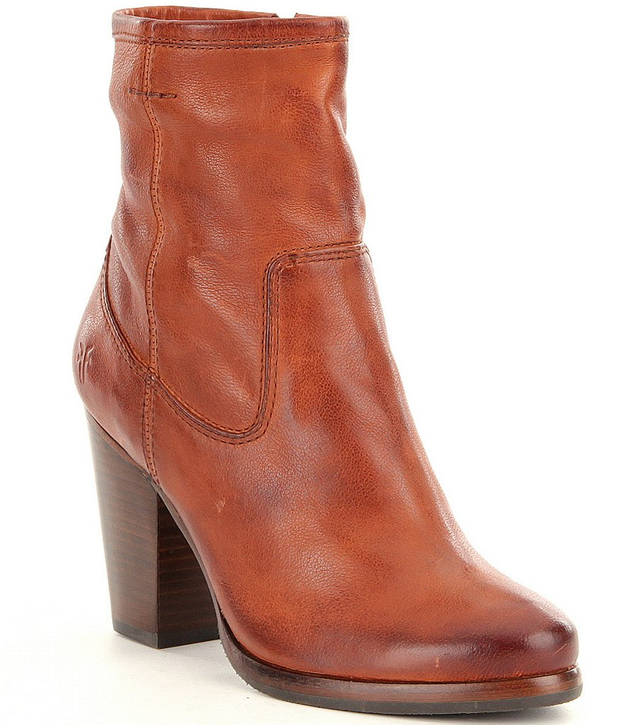 Frye Patty Artisan Zip Short Boots
