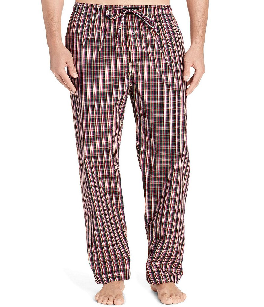 Polo Ralph Lauren Plaid Printed Woven Pajama Pants