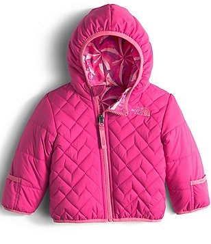 The North Face Baby Girls 3-24 Months Reversible Perrito Jacket
