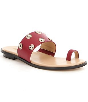 MICHAEL Michael Kors Carol Toe Thong Sandals