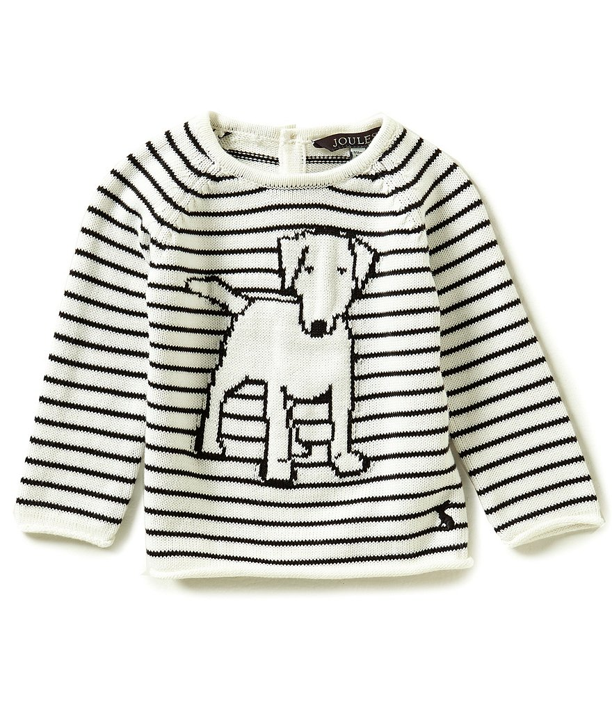Joules Baby Boys Newborn-12 Months Jolly Long-Sleeve Dog Tee