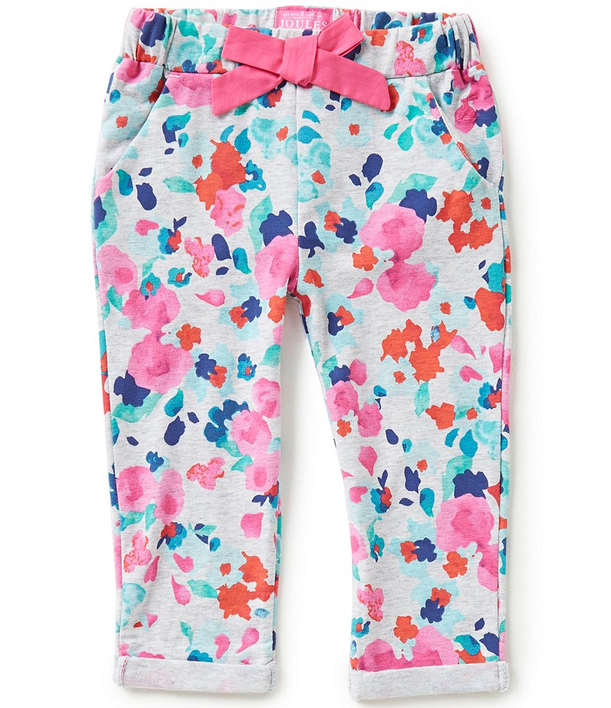 Joules Baby/Little Girls 12 Months-3T Jazz Floral-Printed Pants