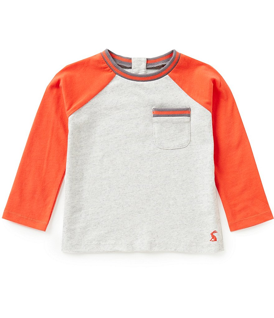 Joules Baby/Little Boys 12 Months-3T Jonah Long-Sleeve Raglan Tee