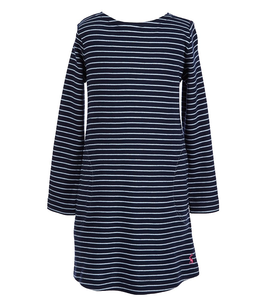 Joules Little Girls 3-6 Marnie Striped Shift Dress