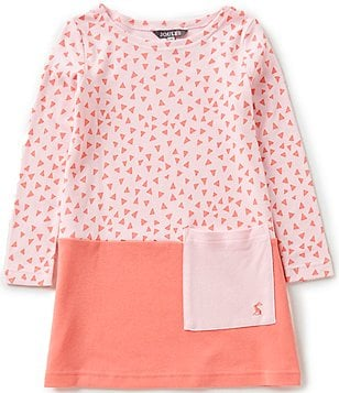 Joules Little Girls 3-6 Suzy Printed Patch-Pocket Dress