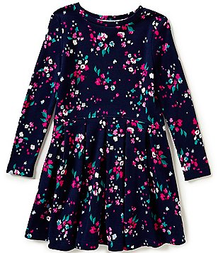 Joules Little Girls 3-6 Revie Floral-Print Drop-Waist Dress