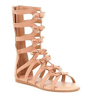 GB Girls Sassy-Girl Bow Gladiator Sandals