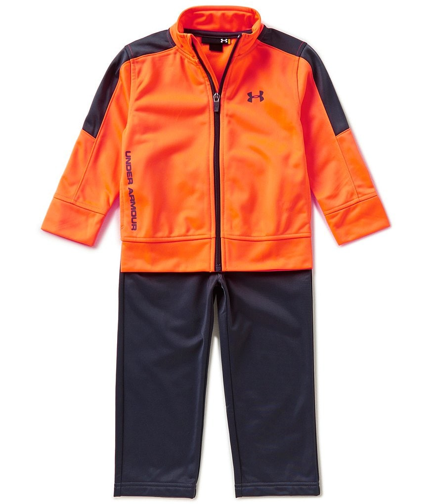 Under Armour Little Boys 2T-7 Fearless Tricot Track Jacket and Pants Set