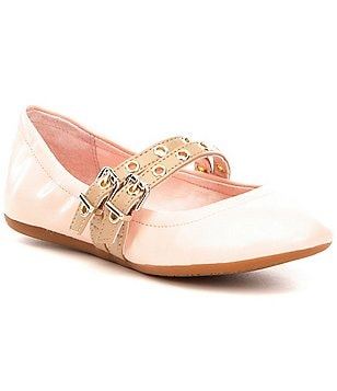 GB Girls Pointe-Girl Buckle Flats