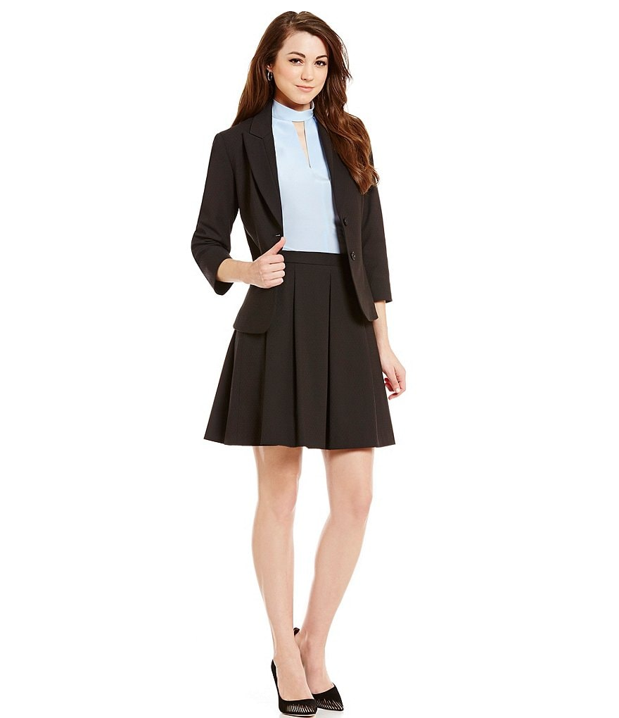 Antonio Melani Mel Quilted Suiting Jacket & Jeni Quilted Suiting Skirt