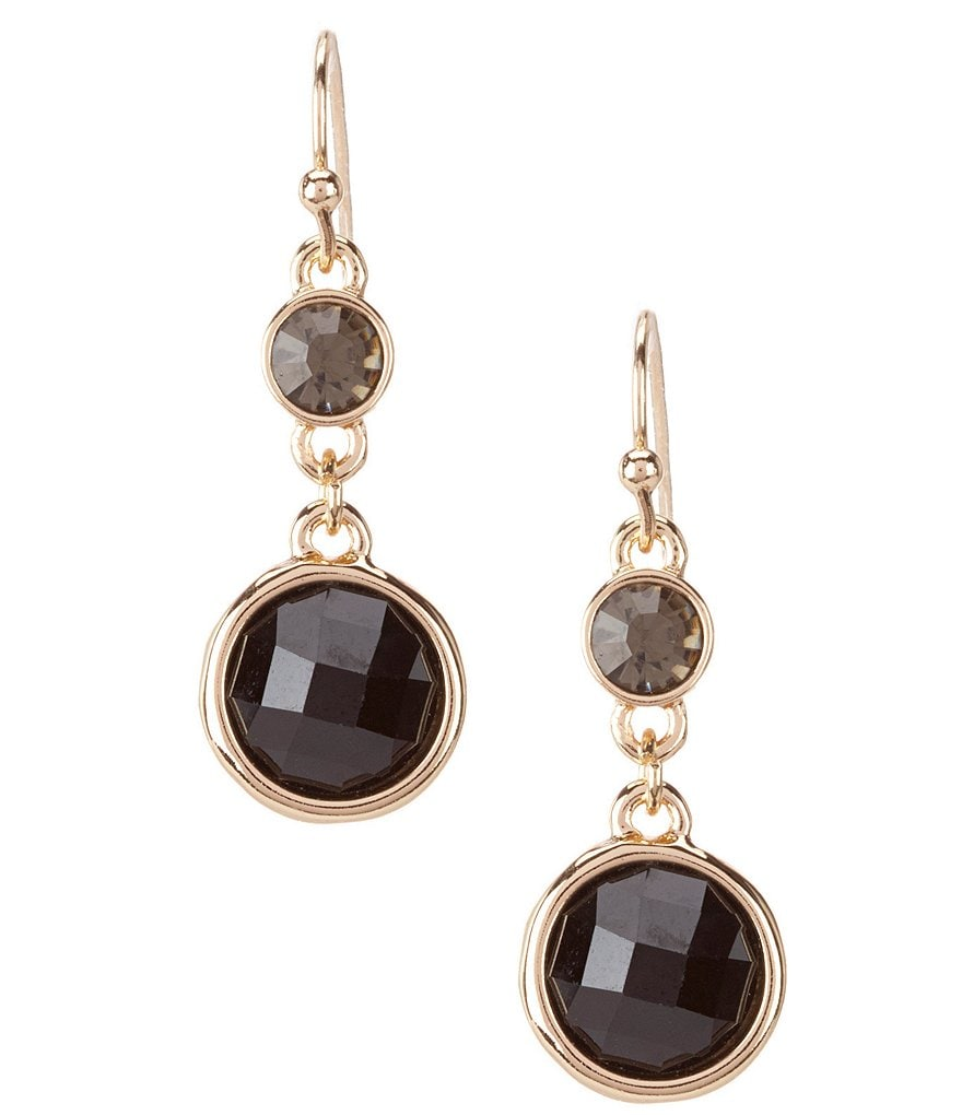 dillard 180 s tailored drop earrings dillards