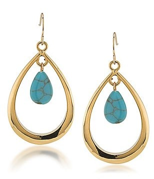 Lauren Ralph Lauren Paradise Found Teardrop Earrings