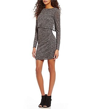 Cremieux Lilly Knit Long Sleeve Popover Dress