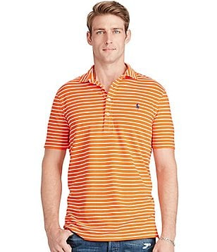 Polo Ralph Lauren Custom-Fit Featherweight Horizontal-Striped Polo Shirt