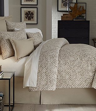 Moderne by Noble Excellence Kendrix Linen & Cotton Duvet Mini Set