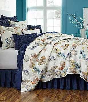 Studio D Kyra Watercolor Paisley Quilt Mini Set