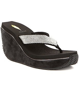 Volatile Glimpse Wedge Sandals
