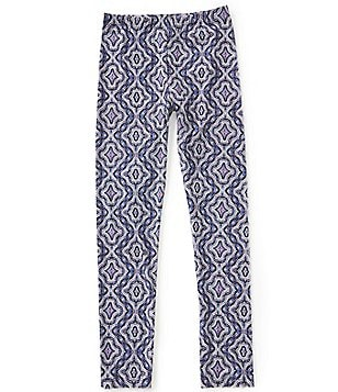 GB Girls Big Girls 7-16 Medallion-Print Leggings