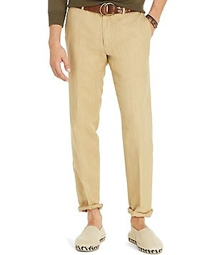 Polo Ralph Lauren Big & Tall Classic-Fit Linen-Blend Chino Pants
