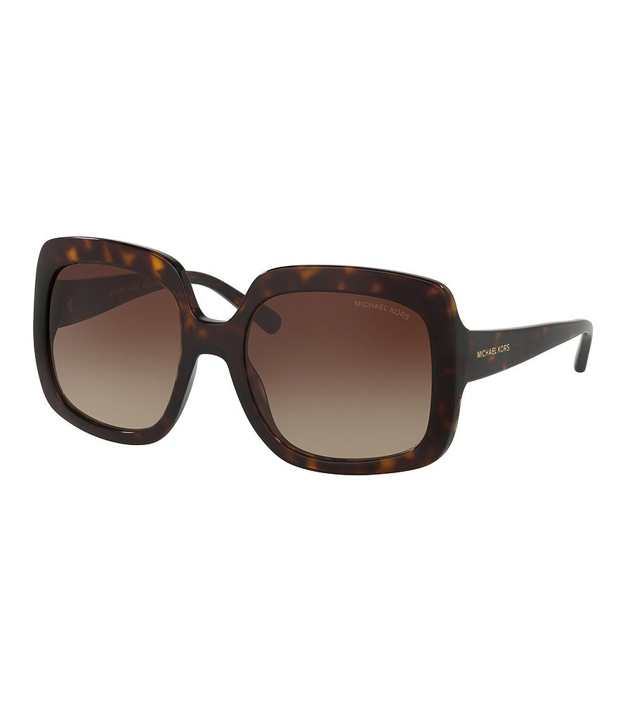 Michael Kors Harbor Mist Gradient Oversized Square Sunglasses