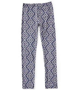 GB Girls Border Little Girls 4-6X Medallion Print Leggings