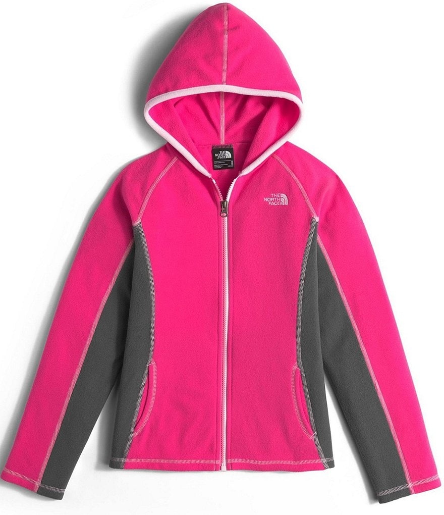 The North Face Little/Big Girls 5-18 Full-Zip Glacier Hoodie