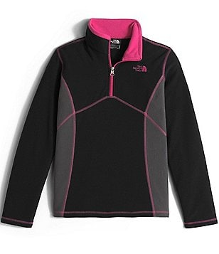 The North Face Little/Big Girls 5-18 1/4-Zip Glacier Jacket