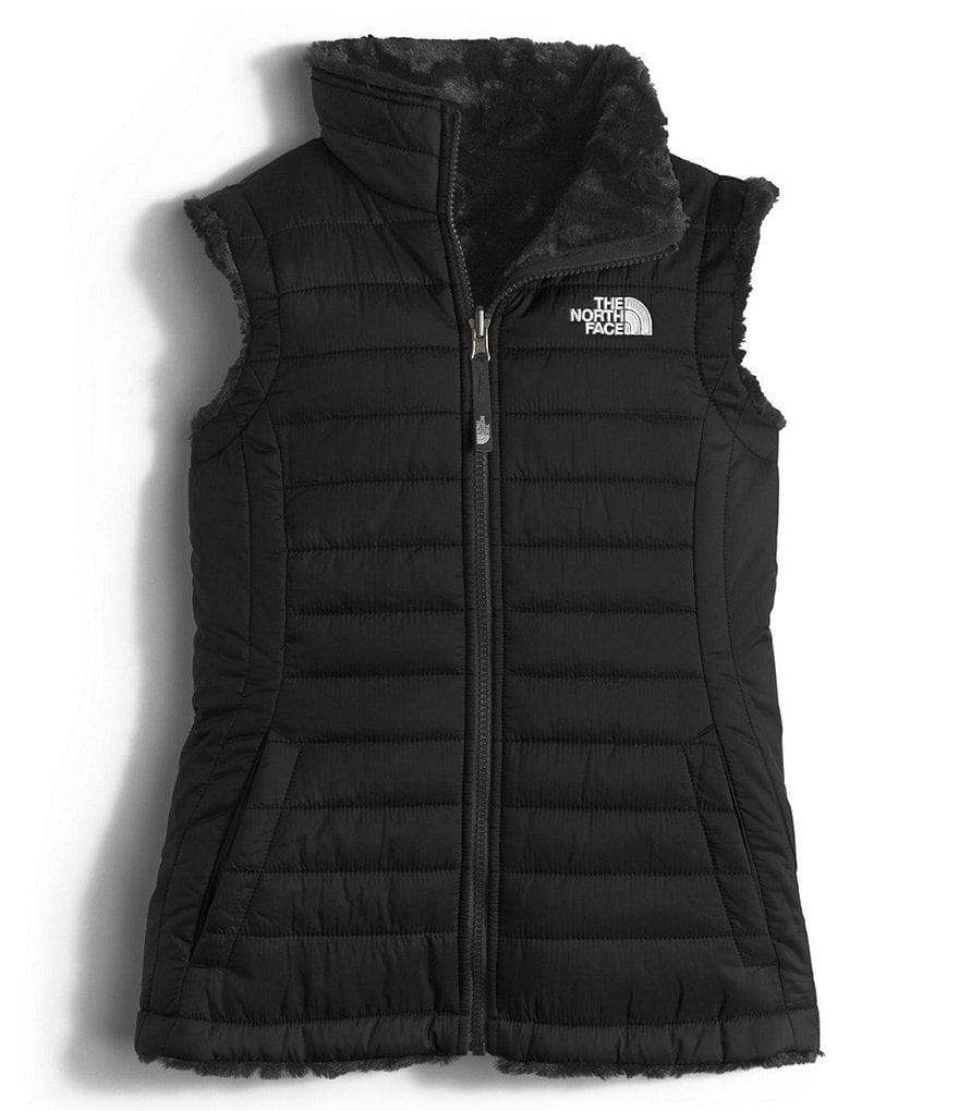 The North Face Little/Big Girls 5-18 Reversible Mossbud Swirl Vest