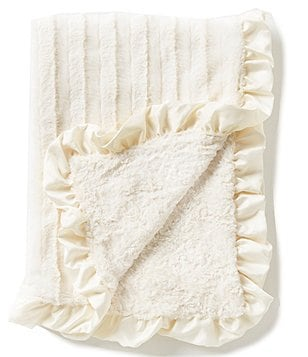Edgehill Collection Ruffle Plush Blanket