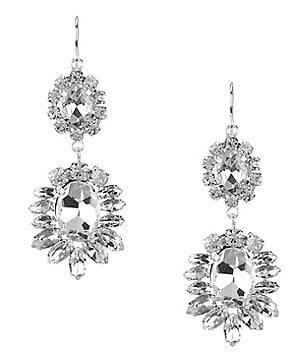 Cezanne Sofia Rhinestone Chandelier Earrings