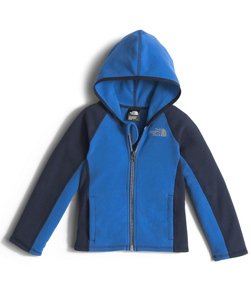 The North Face Little Boys 2T-4T Glacier Color Block Full-Zip Hoodie