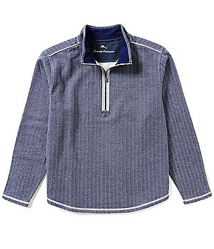 Tommy Bahama Winchester Bay Long-Sleeve Half-Zip Pullover
