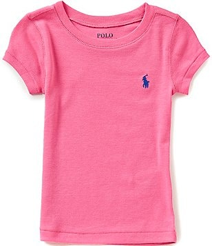 Ralph Lauren Childrenswear Little Girls 2T-6X Crewneck Tee