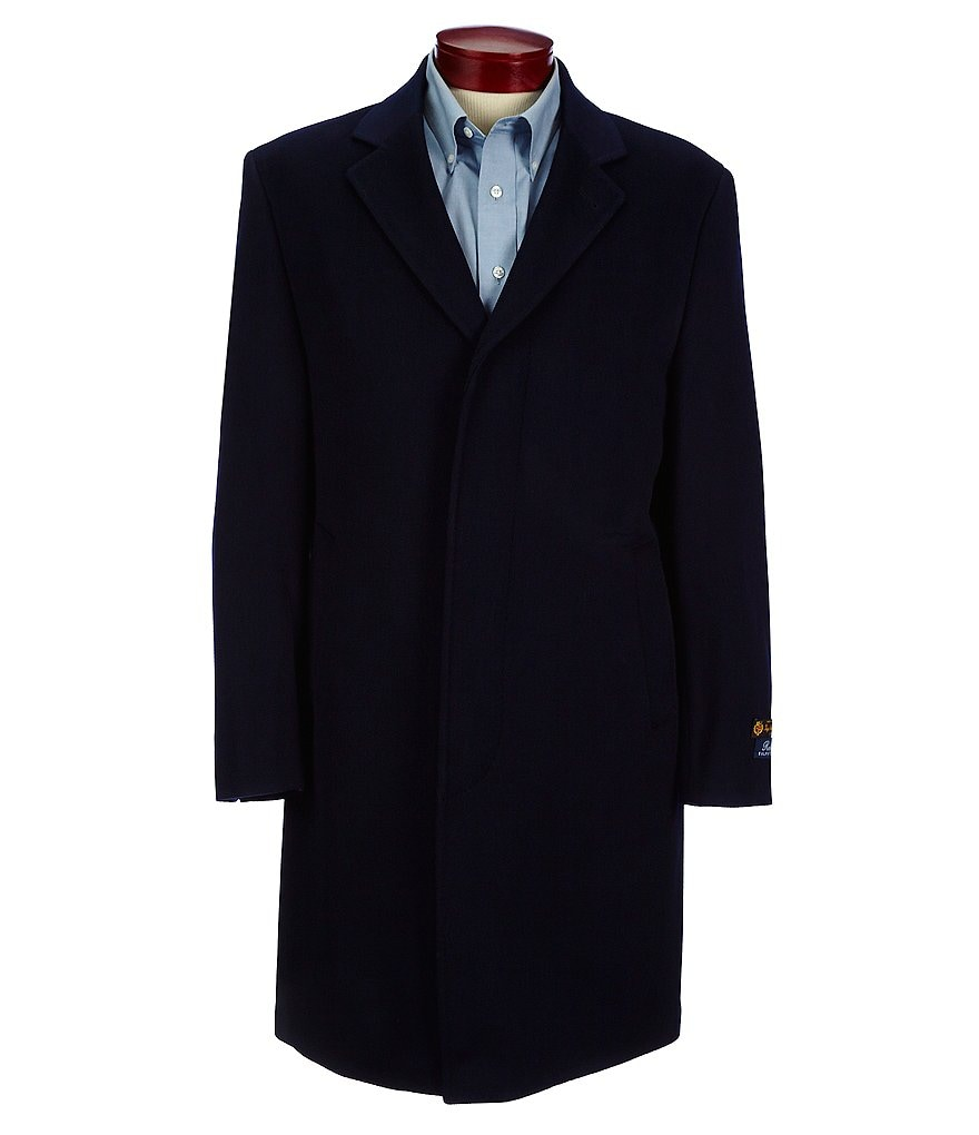 Ralph Ralph Lauren Single-Breasted Wool Topcoat