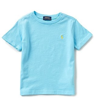 Ralph Lauren Childrenswear Little Boys 2T-7 Solid Short-Sleeve Tee