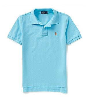 Ralph Lauren Childrenswear Little Boys 2T-7 Short-Sleeve Solid Mesh Polo Shirt
