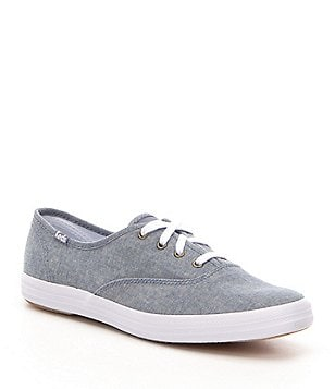 Keds Chambray Champion Chambray Lace-Up Sneakers
