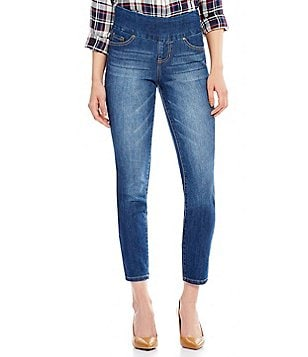 Jag Jeans Amelia Slim Ankle Pull-On 5-Pocket Jeans
