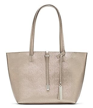 Vince Camuto Leila Metallic Small Tote