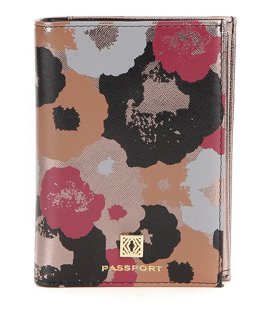 Kate Landry Floral Passport Case