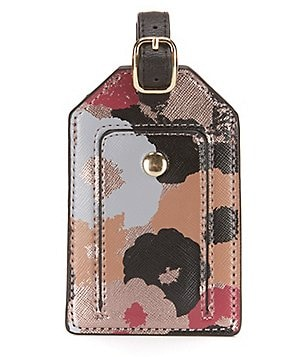 Kate Landry Floral Luggage Tag