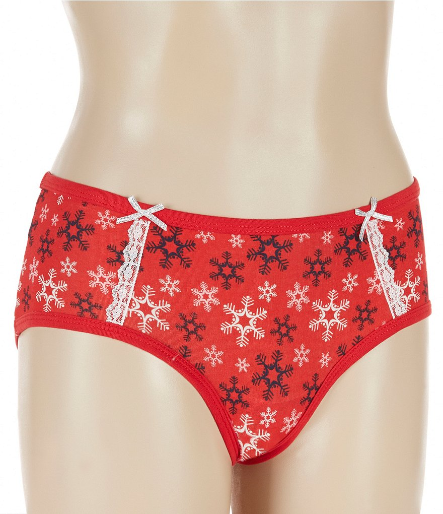 Jasmine & Ginger Flirty Let It Snow Hipster Panty