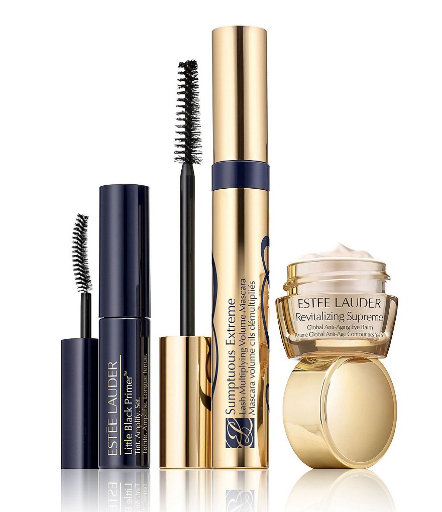 Estee Lauder Knockout Lashes Bold Eyes Trio Featuring Sumptuous Extreme Mascara