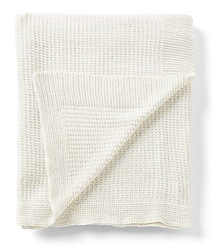 Aman Imports Cassidy Metallic Knit Throw
