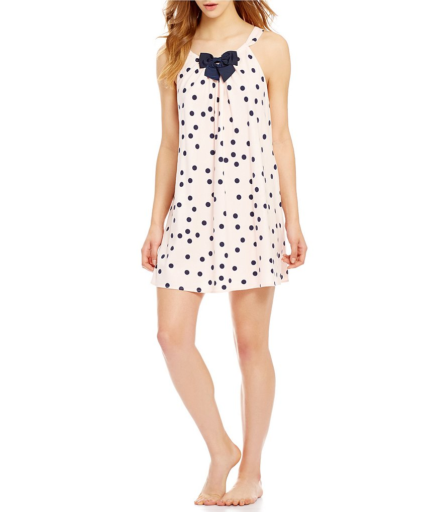 kate spade new york Dotted Flannel Chemise