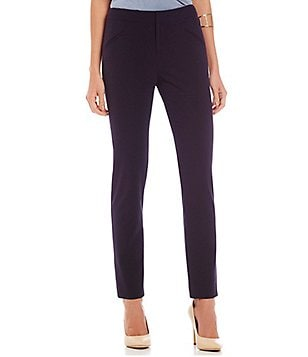 Gianni Bini Delani Pull-On Slim Fit Solid Trouser Pants
