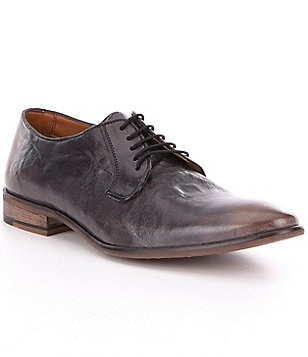 Steve Madden Men´s Abbot Distressed Leather Lace-Up Dress Shoes