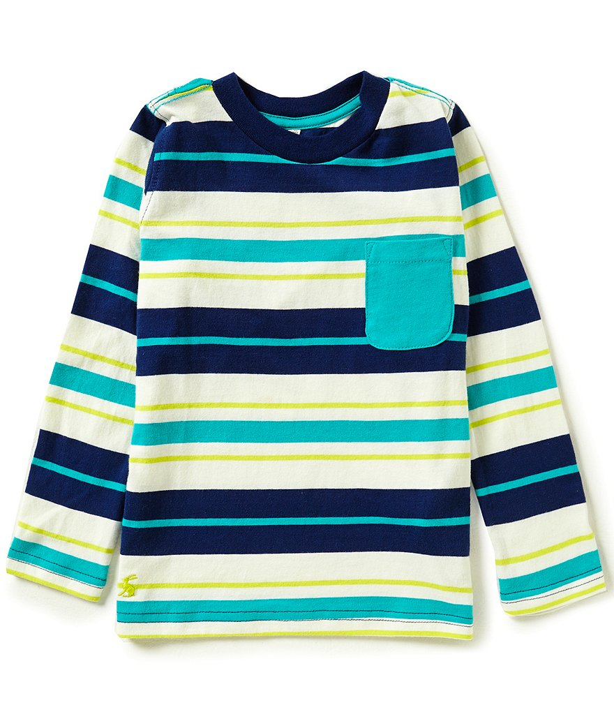 Joules Little Boys 3-6 Oscar Multi-Striped Top
