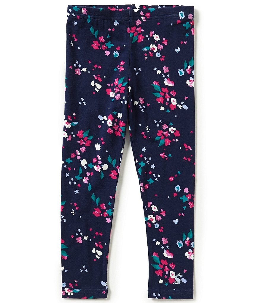 Joule Little Girls 3-6 Floral-Printed Leggings