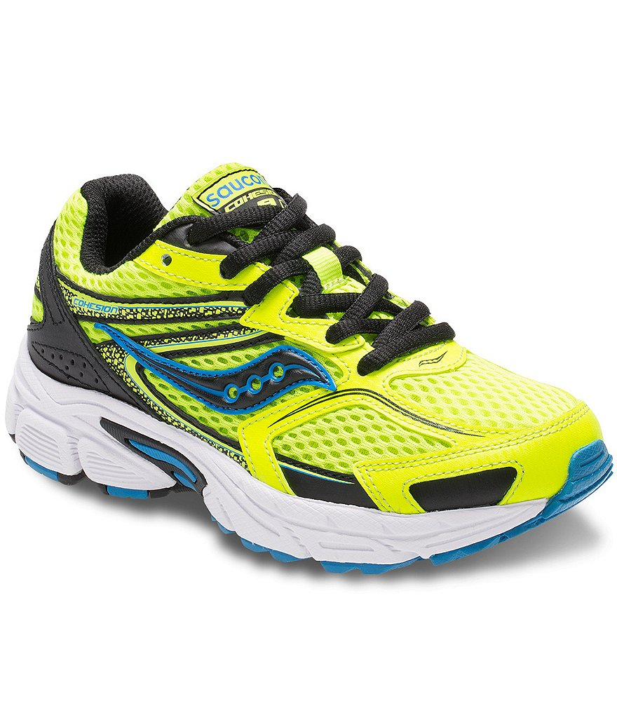 Saucony Boy´s Cohesion 9 Running Mesh Lace-Up Shoe